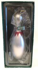 "Bowling Pin Ornament Mercury Glass Jumbo 8"" Midwest of Cannon Falls"