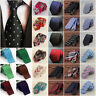 Mens Patterned Business Formal Ties Striped Silk Tie Necktie Deign Pattern Lot