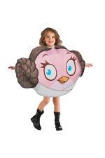 STAR WARS ANGRY BIRDS PRINCESS LEIA GIRLS FANCY DRESS COSTUME