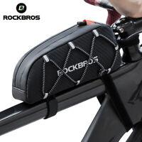 ROCKBROS Bike Reflective Front Top Frame Tube Bag Large Capacity Ultralight
