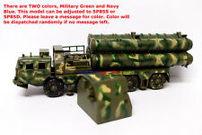 New 1/72 Russia S-300 Missile System Launcher Truck 5P85S / 5P85D Toy Soldiers