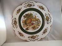 Vintage Wood & Sons Ascot Service Alpine White Ironstone Dinner Plate England