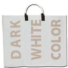 Laundry Bin Bag Basket 3 Section Bathroom Hamper Seperator Colours Darks Whites