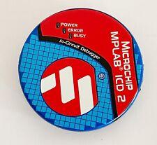 Microchip Mplab Icd 2 In Circuit Debugger 9vdc 750ma Icd2
