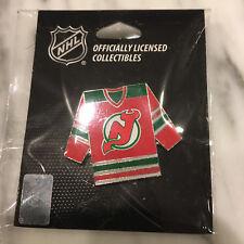 New Jersey Devils Retro Night Jersey Pin