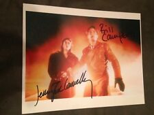Jennifer Connelly Bill CampbelL 8 X 10 PHOTO  SIGNED GUARANTEED AUTHENTIC