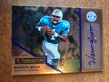 2013 Totally Certified WARREN MOON  THANKSGIVING AUTO 2/15 SSP