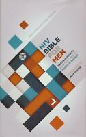 NIV Devotional Bible for Men hardcover jacketed printed BRAND NEW!!!