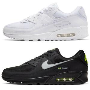 Nike air max 90 Uomo Leather Bianco scarpe sneakers 41 42 43 44 45 originale