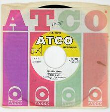 TONY PASS Spring Fever/True True Love 7IN 1966 POP/ROCK NM-