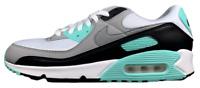 Nike Air Max 90 Hyper Turquoise Blue White Grey Black CD0881-100 Size 8 - 13