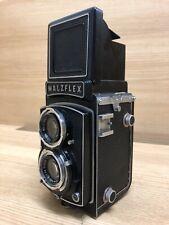 Selten EXC + 5 Walz Walzflex IIa Tlr 6x6 Mittelformat Kamera Kominar 75mm F/3.5
