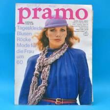 DDR Pramo 12/1980 Praktische Mode Schnittmuster H Puppen Puppenmütter Gestrickt