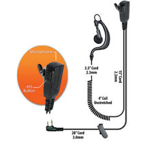 Klein BodyGuard Split-Wire Headset for Maxon Midland GTX GXT (See List)