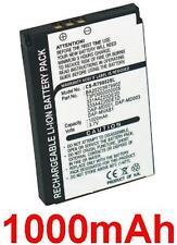 Batteria 1000mAh tipo BA20203R79902 Per Creative Nomad Jukebox Zen Xtra
