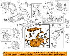 Chevrolet GM OEM 14-15 Cruze-Engine Oil Pan 55582917