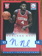 2013-14 Panini First Impressions Autographs Nerlens Noel #17