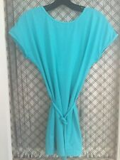 Lululemon Dance Chill Tunic Top Size 6 Frisby Blue Excellent Condition!