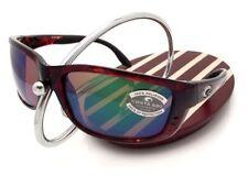 8318e1928a NEW Costa Del Mar ZANE Tortoise   580 Green Mirror Glass 580G