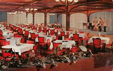 Land O' Lakes WI~King's Gateway Hotel & Inn~Band on Stage~Dining Room~1950s PC