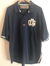 Nike Untold Truth Negro League Chicago American Giants Polo Size XL Blue w White