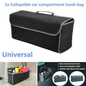 Universal Car SUV Storage Console Collapsible Multipurpose felt Cargo Organizer