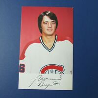 NORMAND DUPONT 1979-80 Montreal Canadiens team issue color postcard Mint