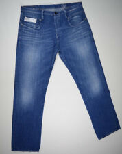 EUC RRP $289 Mens Stunning G-Star Raw 'BLADE LOOSE' Medium Aged Jeans W36 L34