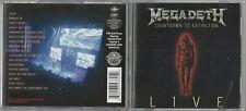 Megadeth  - Countdown to Extinction: Live (CD, Sep-2013, Virgin EMI (Universal)