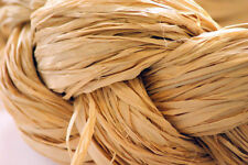 50 Ribbon Raffia Natural Floral Crafts Flowers Gifts Cheap colours
