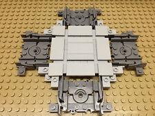 Lego® 1 x City Eisenbahn Kreuzung Zug Rail hellgrau NEU 7938 7939 60051 60052
