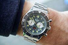 Rare 1990's Vintage Bulova Marine Star Pilot Chronograph Type XX