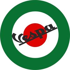 Scooter Decals Italian Roundel Exterior Vinyl Vespa Stickers Mod Culture Music 2