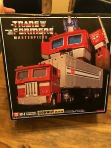 Transformers Masterpiece MP4 Optimus Prime & Trailer MIB!