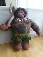 MOANA DOLL OFFICIAL DISNEY STORE MOANA MAUI SOFT TOY PLUSH 17 Inch