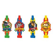 PAW PATROL PARTY SUPPLIES BLOWOUTS PACK OF 8 GENUINE LICENSED