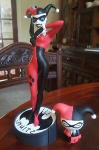 Harley Quinn 'Bat Man Stinks' Figure + Funko Pop Figure - Unboxed
