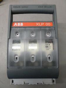 ABB XLP 00 NH-Trenner bestückt 100A