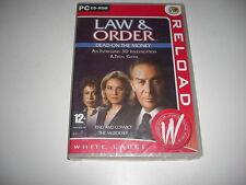 LAW & y el orden-muertos en el dinero PC CD ROM WL-Nuevo Y Sellado-Rápido Post