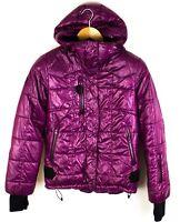 Bergans de Noruega Mujer Chaqueta Acolchada Impermeable Compresión Coat TALLA S
