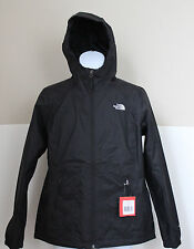The north face nylon coats jackets for women ebay the north face womens black boreal full zip rain jacket outerwear m sciox Image collections