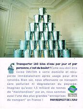 PUBLICITE ADVERTISING 114  1996  LYONNAISE DES EAUX  par respect de l'eau