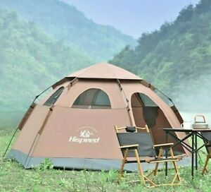 Tent outdoor 5-8 people automatic pop-up anti-rainstorm children's thickened pro