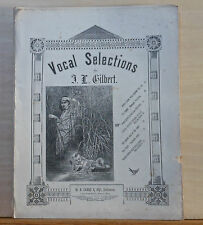 When Kitty Is Milking The Cows - 1882 large size sheet music - Jackson & Gilbert