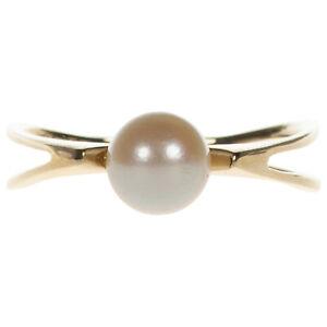 Damen Ring in Gold 585 mit Akoya Perle Gr. 60 (D2266)