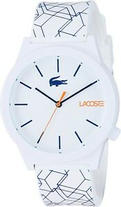 Lacoste White Analogue Men Watch Leisure 2010956