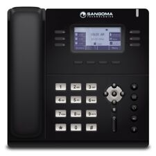 Sangoma S405 3 SIP Line HD Mid Level VoIP IP Giga LCD PoE Phone + Power