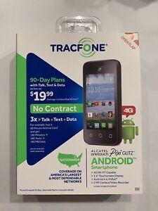 Alcatel Pixi Glitz 4G LTE 8GB, Prepaid Smartphone - Black