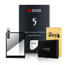 GGS 5th  Screen Protector and Sunshade Hood for Sony A9 / A7II / A7III / A99II
