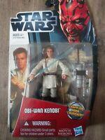 Star Wars Young OBI-WAN KENOBI Movie Heroes Galactic Battle 4 Inch Tall